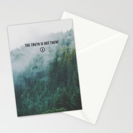 THE TRUTH IS OUT THERE Stationery Cards