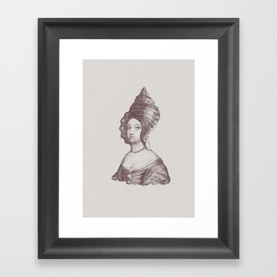 Haute Coiffure  /#6 Framed Art Print