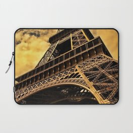 The Eiffel Tower in Paris France Laptop Sleeve