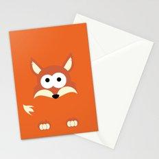 Minimal Fox Stationery Cards