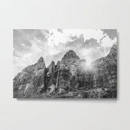 Plein Air in Zion Metal Print