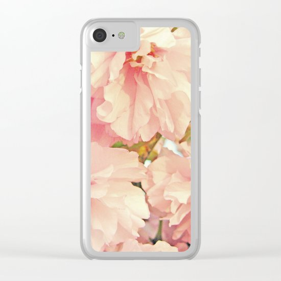 Softly Spring Clear iPhone Case