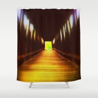 model Shower Curtains featuring Model  by AlleaJiapsi