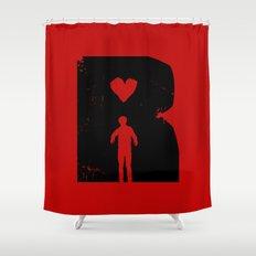 Dead Romantic Shower Curtain