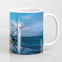 vikings Mugs featuring Remember the Vikings by Alex Tonetti Photography