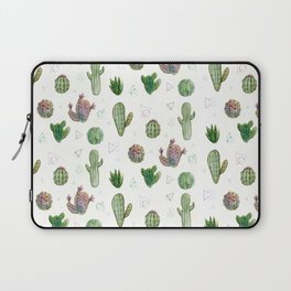 Cactus and Triangles Laptop Sleeve