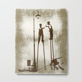 Higher level of sobriety Metal Print