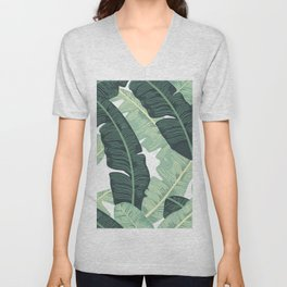 BANANA LEAVES 2 Unisex V-Neck