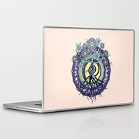buddhism Laptop & iPad Skins featuring Tree of Knowledge by DebS Digs Photo Art