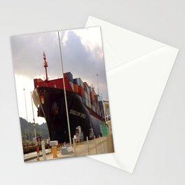 Cargo ship Stationery Cards