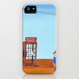 The Out of Service Phone Box iPhone Case