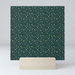 Polyhedral Dice- Secret Garden Mini Art Print