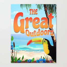 The Great Outdoors Toucan Canvas Print