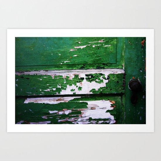 Old Door. Art Print