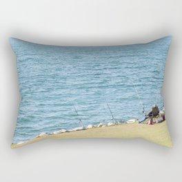 Go Fishing Rectangular Pillow