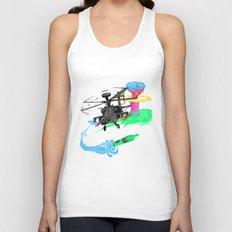 Art of War Unisex Tank Top