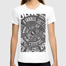 TenderLoin San Francisco Type wheel T-shirt