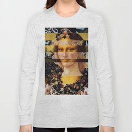 Leonardo Da Vinci'sMona Lisa & Botticelli's Venus Long Sleeve T-shirt