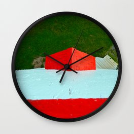 View from Lighthouse Window Wall Clock