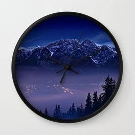 The Mountain's Dream Wall Clock