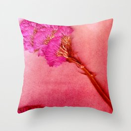 PinkForest Throw Pillow