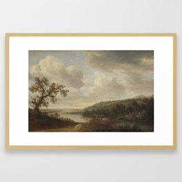 River view, Johan Pietersz. Schoeff, 1631 Framed Art Print