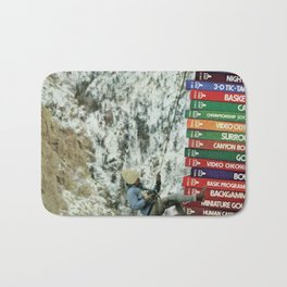 Great Outdoors 2600  - Vintage Collage Bath Mat
