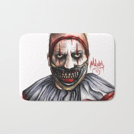 TWISTY THE CLOWN Bath Mat