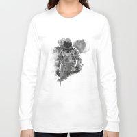 interstellar Long Sleeve T-shirts featuring interstellar by Molnár Roland