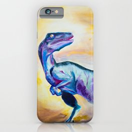 Raptor in Color iPhone Case