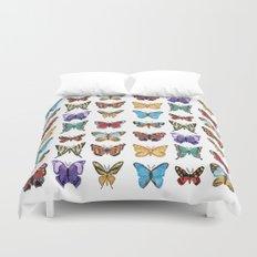 Butterflies (Papillons) Duvet Cover
