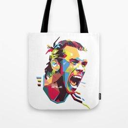 Gareth Bale WPAP 3 Tote Bag