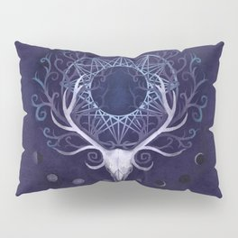 Season Of The Moon's Winter Fire Pillow Sham