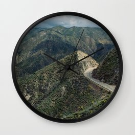 Angeles National Forest III Wall Clock