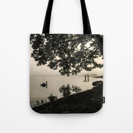 The Young Lovers at Windermere Tote Bag