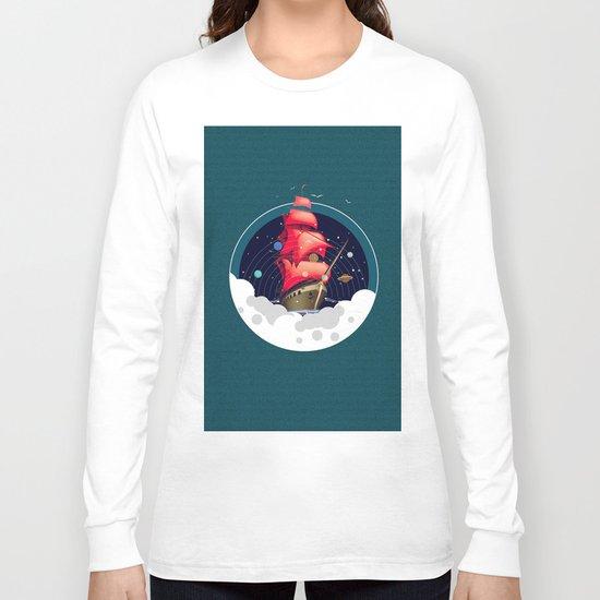 Spaceship Long Sleeve T-shirt