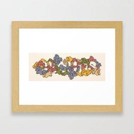 Clouds #1 Framed Art Print
