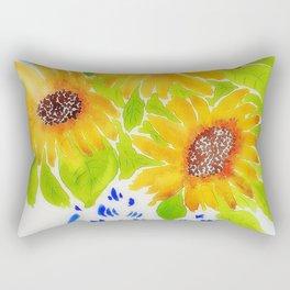 Sunflowers II Rectangular Pillow