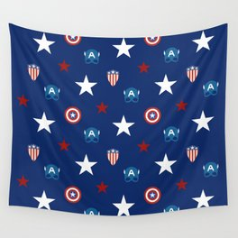 The Star Spangled Man With A Plan Wall Tapestry
