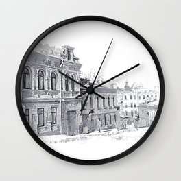 Old street Wall Clock
