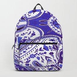 Ultra Violet Mandala Pattern Backpack