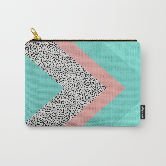 90s Chevron Carry-All Pouch