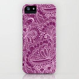 Neon in the garden iPhone Case