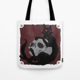 Friday The 13th Cat Tote Bag