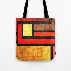 Red Yellow Orange Tote Bag