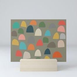 Modern Gumdrops Mini Art Print