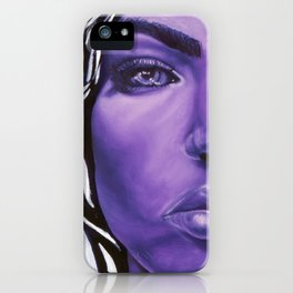 Violet Beauty iPhone Case