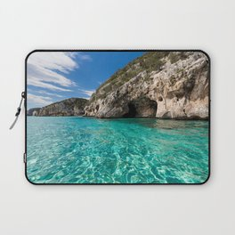 cave and blue lagoon Laptop Sleeve