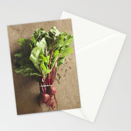 dropped the beet Stationery Cards