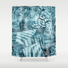 Tiger Print Shower Curtains